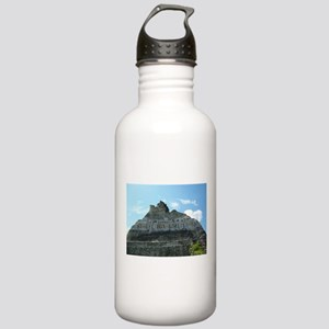 Xunanatunich Mayan Ruins in Belize Water Bottle