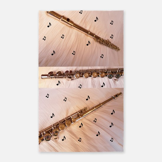 Flutes & Notes 3'x5' Area Rug