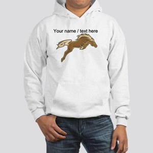 Custom Jumping Horse Hoodie