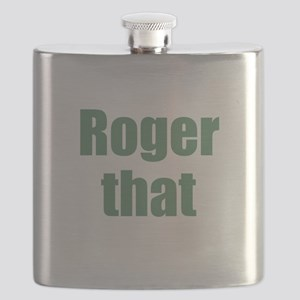 Roger That Flask