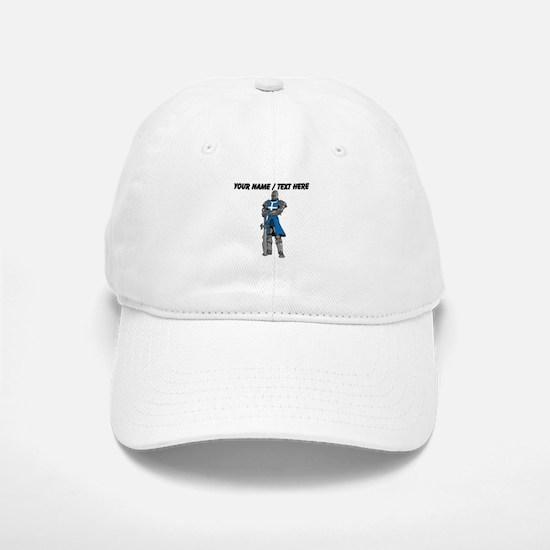 Custom Blue Knight Baseball Baseball Baseball Cap