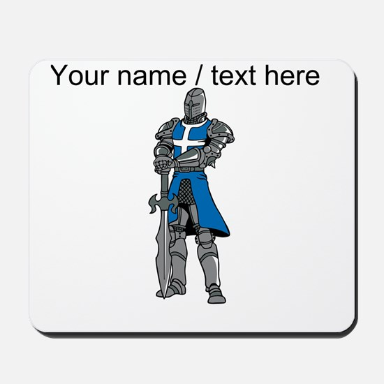 Custom Blue Knight Mousepad