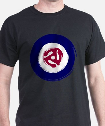 Retro Mod Target with 45 rpm adaptor T-Shirt