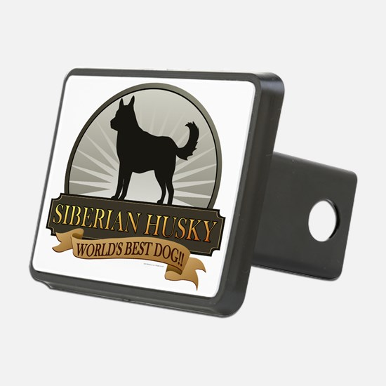 Siberian Husky Hitch Cover