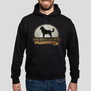 Siberian Husky Hoodie (dark)