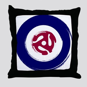 Mod Northern soul design with vinyl adaptor Throw
