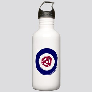 Mod Northern soul design with vinyl adaptor Water