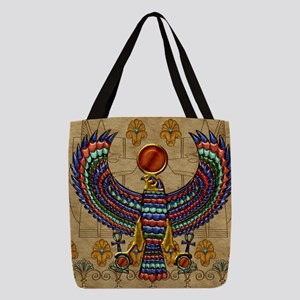 Harvest Moons Egypt Hawk Polyester Tote Bag