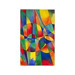 Color Shards 3'x5' Area Rug