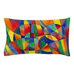 Color Shards Pillow Case