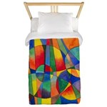 Color Shards Twin Duvet Cover