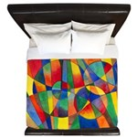 Color Shards King Duvet Cover