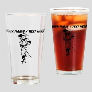 Custom Musketeer Drinking Glass