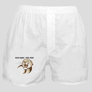 Custom Cougar Boxer Shorts
