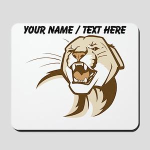 Custom Cougar Mousepad