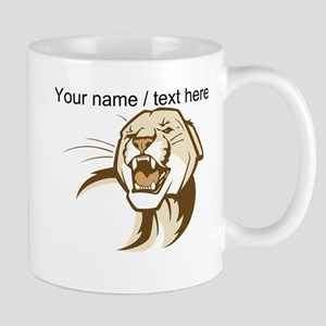 Custom Cougar Mug