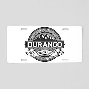 Durango Grey Aluminum License Plate