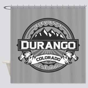 Durango Grey Shower Curtain