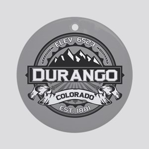 Durango Grey Ornament (Round)