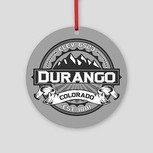 Durango Grey Ornament (Round)