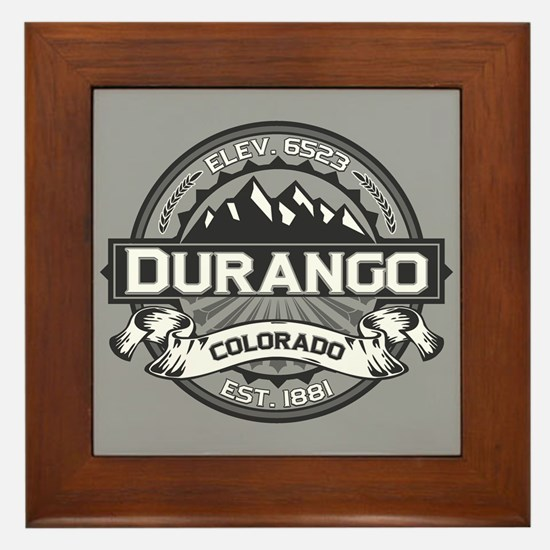 Durango Grey Framed Tile