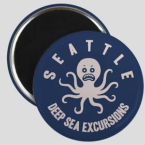 Deep Sea Seattle Magnet