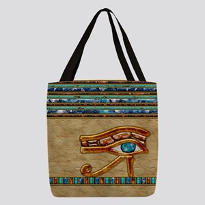 Harvest Moons Eye of Horus Polyester Tote Bag