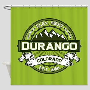 Durango Green Shower Curtain