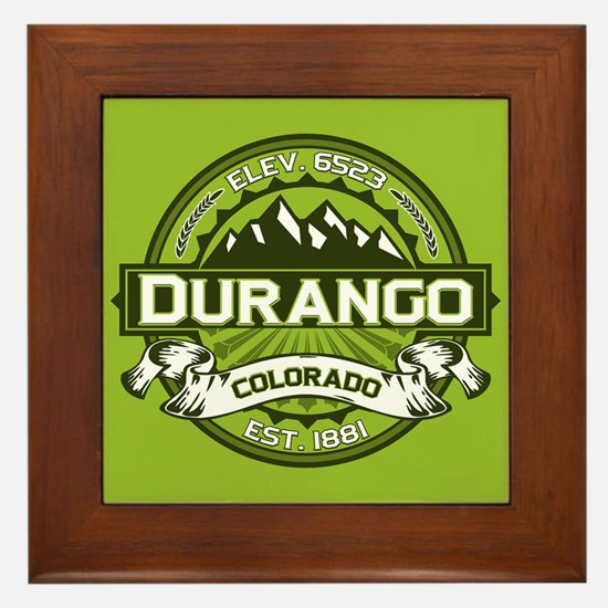 Durango Green Framed Tile