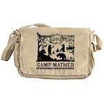 Camp Mather Matter, save the dam Messenger Bag