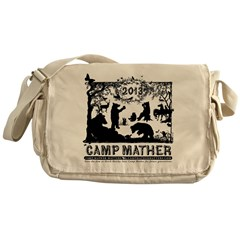 Camp Mather Matter, save the dam Messenger Bag