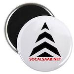 """SoCalSAAB 2.25"""" Magnet (10 pack)"""
