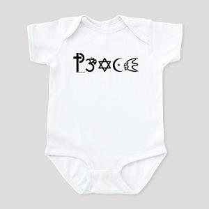 Peace-OM Infant Bodysuit