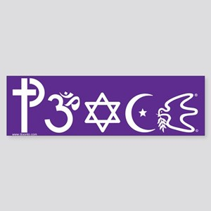 Peace-OM Bumper Sticker