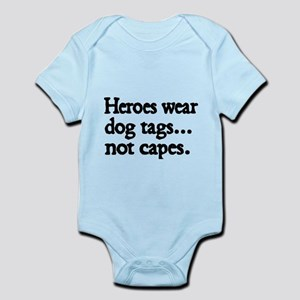Heroes wear dog tags Body Suit