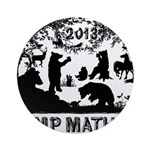 Camp Mather Matters Ornament (Round)