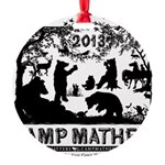 Camp Mather Matters Round Ornament