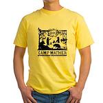 Camp Mather Matters Yellow T-Shirt