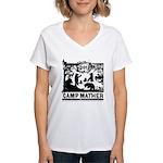 Camp Mather Matters Women's V-Neck T-Shirt