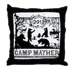 Camp Mather Matters Throw Pillow