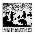 Camp Mather Matters Tile Coaster