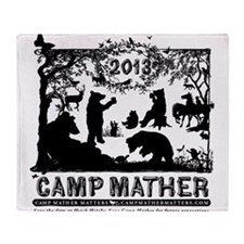 Camp Mather Matters Throw Blanket