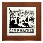 Camp Mather Matters Framed Tile