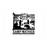 Camp Mather Matters 35x21 Wall Decal