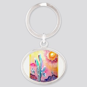 Desert, bright, southwest art! Keychains