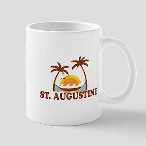 loSt. Augustine - Palm Trees Design. Mug
