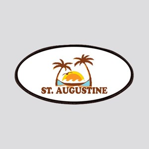 loSt. Augustine - Palm Trees Design. Patches