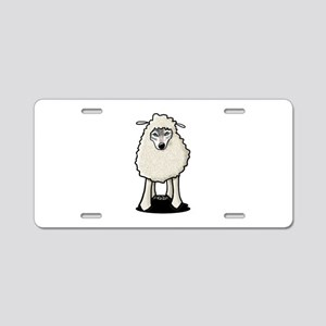 Wolf In Sheep's Clothing Aluminum License Plate