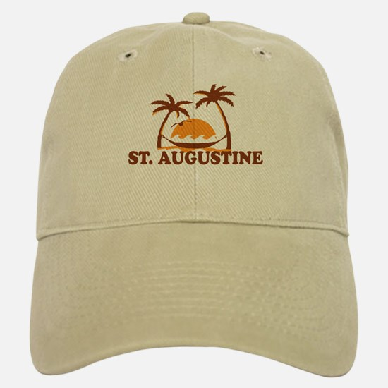 loSt. Augustine - Palm Trees Design. Baseball Baseball Cap