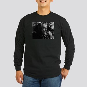 Chales Bukowski Long Sleeve T-Shirt